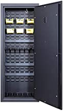 Secure It Gun Storage Agile Ultralight Gun Safe: Model 52 Plus - Holds 6 Firearms and Includes CradleGrid Tech, A Heavy Duty Cabinet with Keypad Control