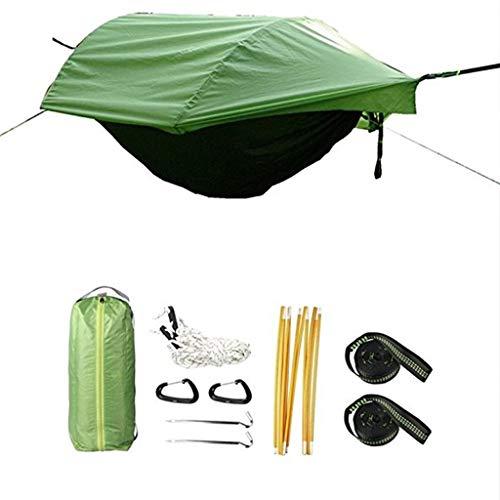 Hamacas Mobiliario de Camping Y a Prueba de Mosquitos a Prueba de Agua al Aire Libre Multi-Escena de Aplicaciones a Prueba de Lluvia Carpa a Prueba de Humedad y Durable a Prueba de Lluvia y la p