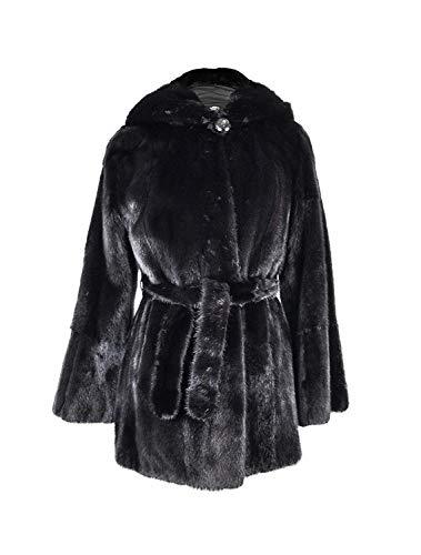 Zerimar Abrigo Vison Peletería | Chaquetas Mujer | Chaquetas Mujer Pelo | Chaqueta Elegante Mujer | Abrigo Mujer | Abrigo Mujer Pelo