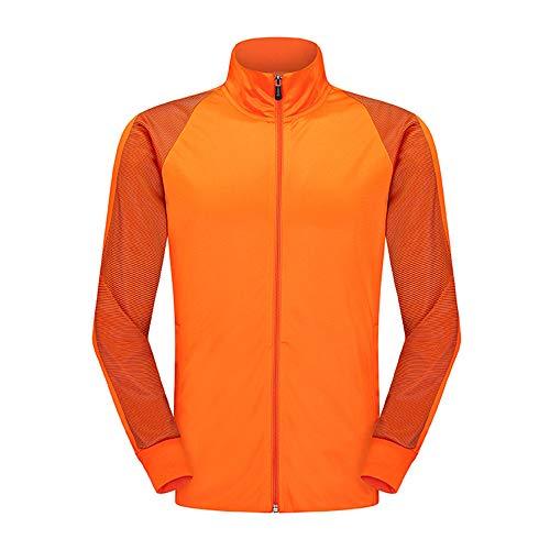 Discovery Veste de sport pour femme Noir - Orange - 4X-Large