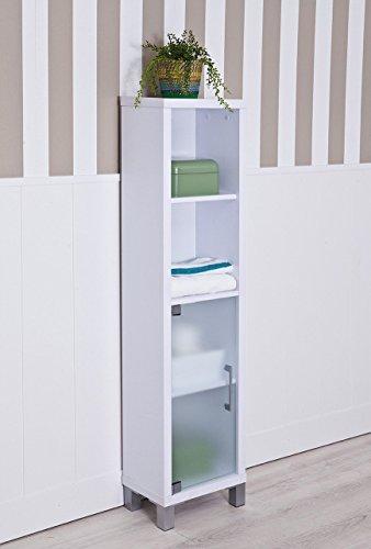 INTRADISA 8902 Badezimmer-Regal mit 3 Innenbrettern