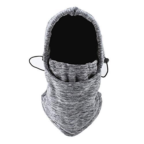Roffatide Verwarmde Balaclava Hoed voor Vrouwen Fleece Balaclava Half Gezicht Masker Ski Balaclava Hood Fietsen Outdoor Balaclavas