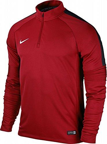 Nike Herren Squad 15 Ignite Midlayer Sweatshirt, rot/Weiß/Schwarz, XXL-56/58