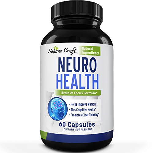 Mind Enhancing Supplement - Improve Memory Boost Brain Power Enhance Mental Clarity - Pills with Best Top Natural Vitamins for Better Cognitive Function Concentration Focus