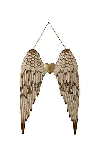 Creative Co-Op Metal Angel Wings Wall Décor