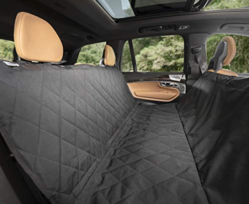 Best Dog Seat Covers for Leather Seats - Plush Paws Pet Seat Cover with Removable Hammock