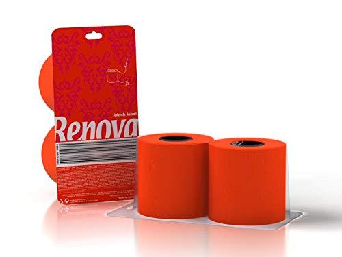 Renova Papel Higiénico Rojo - Pack Regalo 2 Rollos