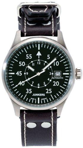Junkers Herrenuhr Leder/Sonstige analog Automatik Leder 6258-2