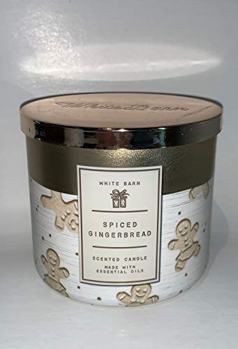 White Barn 2020 Winter Scented 3-Wick Candles (Spiced Gingerbread)