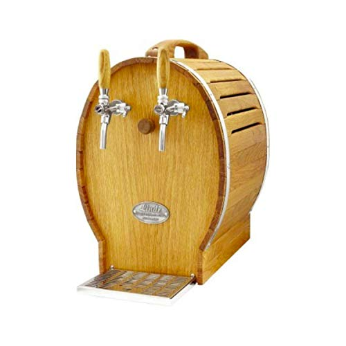 ich-zapfe Soudek 50 1/5 PS, raffreddatore a Secco per Birra, spillatore Birra a Botte, 2 Linee, 50 Litri/h