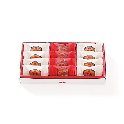梅林堂 紅白満願成就12匹入 マドレーヌ お祝いギフト