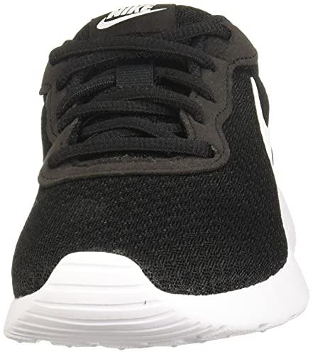 NIKE Tanjun, Zapatillas Mujer, Negro (Black/White 011), 38 EU