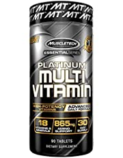 MuscleTech Platinum Multivitamin Unflavored, 90 Capsules