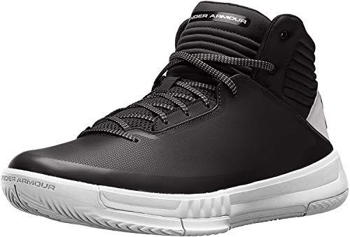 Under Armour Men's Jet Low Basketball Shoe, Black (003)/Overcast Gray,...
