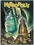 Metropolis - Deutsche – Film Poster Plakat Drucken Bild
