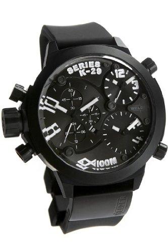 Welder Men's K29 Series Triple-Time Zone Chronograph Watch - 8003