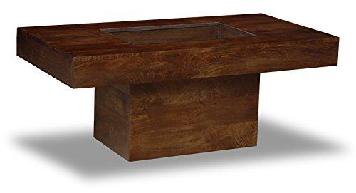 Mango Dark Large Pebble Coffee Table