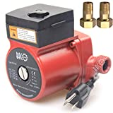 BACOENG 3/4'' 110V/115V Hot Water Circulation Pump /Circulator Pump For Solar Heater System With US Plug