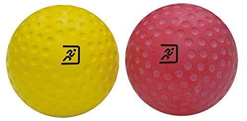 ResultSport® Juego de bolas de masaje Lacrosse de 7 cm (firme y suave) – Masaje muscular profundo – Masaje de punto gatillo – Bola miofásica, pelota de ejercicio