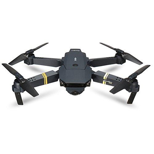 FairOnly E58 / JY019 - Dron cuadricóptero teledirigido con cámara Gran Angular HD, Modo de Soporte Alto, Brazo Plegable, RTF VS Vi-SUO XS809HW JJ-RC H37