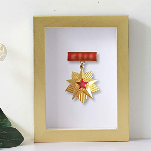 Medaille Display Rahmen,Medaillenhalter,Race Bib Medaillen-Display Vitrine mit Holzrahmen,Medaillenrahmen für oder Laufmedaillen Kriegsmedaille Holz-Vitrine für Vitrine für Orden und Ehrenzeichen
