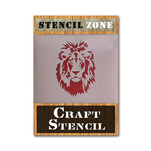 LION ANIMAL MYLAR AirRush Malerei Wand ART STENCIL