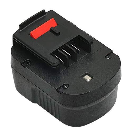 ADVNOVO 12V 18V 3,5Ah Ni-MH Batería de Reemplazo para Black and Decker (HPB12 3.0 Batería)