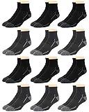 Van Heusen Men's Socks - Performance Cushioned Above Ankle Athletic Quarter Mini-Crew Socks (12 Pack), Size Shoe Size: 6-12.5, Pure White