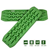 OPENROAD 10T Traction Boards,Recovery Boards,Tire Traction Mats for Sand Snow Mud Off-Road Accessories,Green