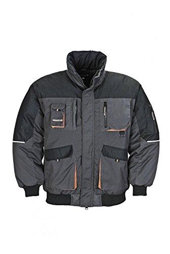 Terratrend Job 4629-L-6310 Gilet de Pilote pour Homme Taille L Gris Foncé/Noir
