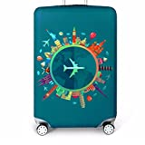 Bestja Elastica Proteggi Valigia Suitcase Luggage Cover, Lavabile Viaggio Bagagli Coprire ...