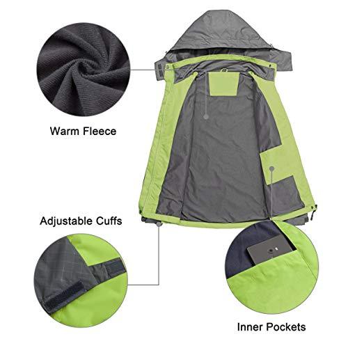 41e DuFYV1L. SS500  - Diamond Candy Women's Waterproof Jacket Outdoor Hooded Raincoat