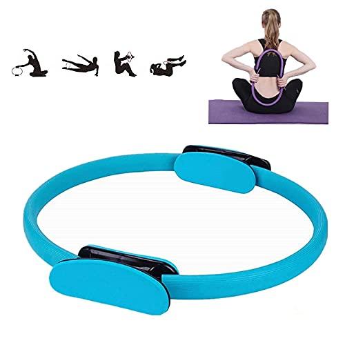 Dupo Cerchio magico per yoga, fitness, anello per pilates, per esercizi di tonificazione del corpo, anello per esercizi ad alta resistenza, per scolpire (blu)