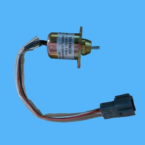 Gowe Stop Magnetventil für Yanmar 12V Kraftstoff 1503es Magnetspule 119233–77932Für R55–5, R60–5Bagger
