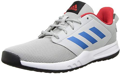 Adidas Men's UNIFACTOR M Running Shoe- Stone/DRKROY/VIVRED, 8 UK