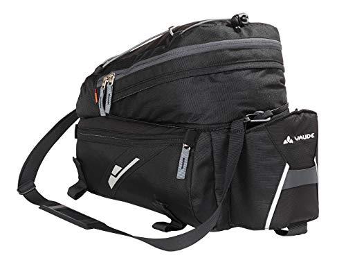 VAUDE Silkroad borse posteriori bici - Comoda borsa per bicicletta con 2 scomparti laterali, 1 tasca per la bottiglia e molte altre - Pratica borsa portapacchi per le escursioni in bici