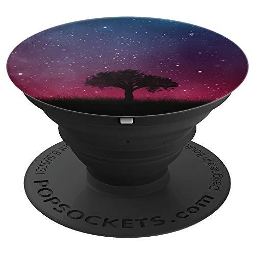 Space Tree - Weltraum Baum - PopSockets Ausziehbarer Sockel und Griff für Smartphones und Tablets