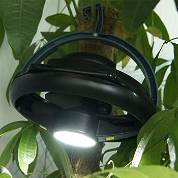 WT-DDJJK Ventilateur de Lampe de Tente, Ventilateur d'escalade Multifonction de Camping en Plein air, équipement d'été de Lampe de Survie de Tente Rechargeable USB