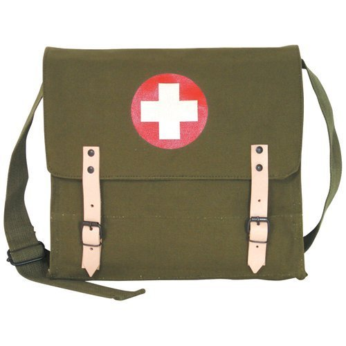 Fox Outdoor Products German Medic Bag, oliva Drab by Fox Outdoor