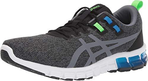 ASICS Men's Gel Quantum 90 Shoes, 10.5M, Graphite Grey/Metropolis