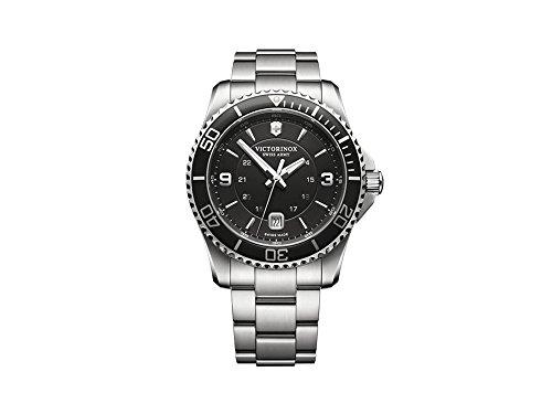VICTORINOX SWISS ARMY Reloj Analógico para Unisex Adulto de Automático con Correa en Acero Inoxidable V241697