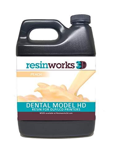 Resinworks 3D printer resin Dental Model peach - 500g bottle