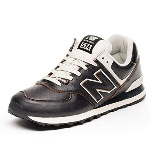 New Balance 574v2 Sneaker Uomo, Nero (Black Black), 44.5 EU (10 UK)
