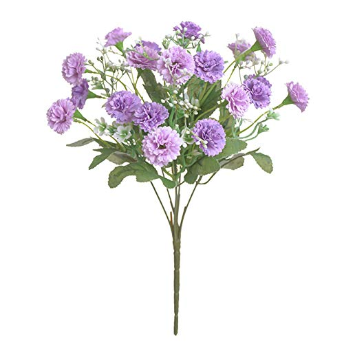 Phoneix 1 Bouquet Aritificial Lilac Flower Photography Wedding Bridal Flower Bouquet Home Deocoration Fake Flowers Purple