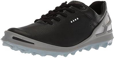 ECCO Women's Cage Pro Gore-Tex Golf Shoe, Black, 40 M EU (9-9.5 US)