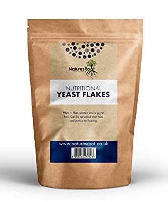 Natures Root Nutritional Yeast Flakes 500 g - Best Tasting - Premium Quality
