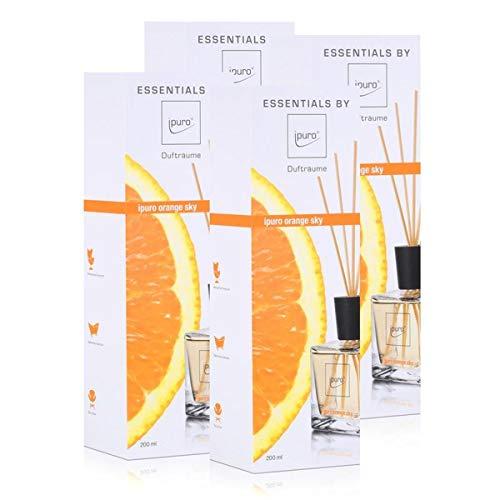 Essentials by Ipuro orange sky 200ml Raumduft Dufträume (4er Pack)