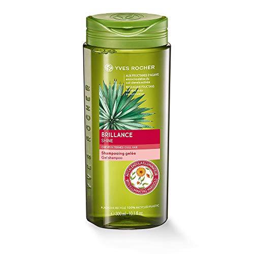 Yves Rocher PFLANZENPFLEGE HAARE Glanz-Shampoo, intensiver Glanz ab der 1. Wäsche, pflegendes Haar-Shampoo, 1 x Flacon 300 ml