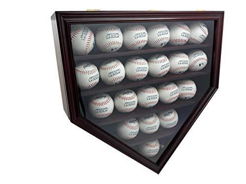 baseball wall mount display case - 3