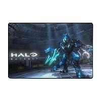 洗えるラグ Halo Recruit ラグマット 滑り止め付 カーペット フロアマット 181x122cm